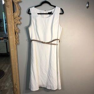 Jessica Howard, fully Lined Sleeveless Linen/Rayon